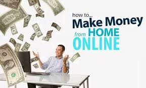 How to make money from home online image